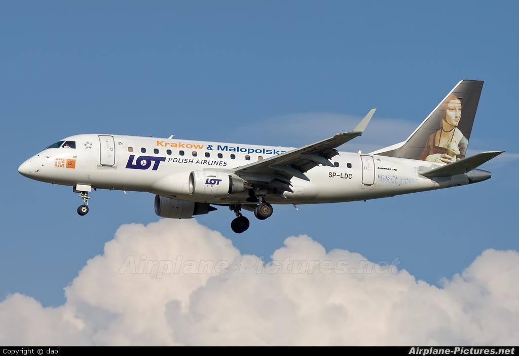 LOT - Polish Airlines SP-LDC aircraft at Milan - Malpensa
