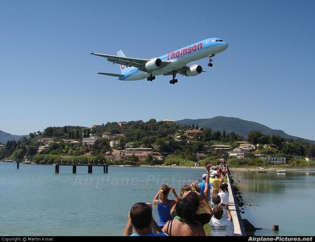 Thomson/Thomsonfly - aircraft at Corfu - Ioannis Kapodistrias