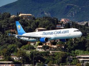 G-OMYJ - Thomas Cook Airbus A321