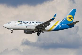 UR-GAU - Ukraine International Airlines Boeing 737-500
