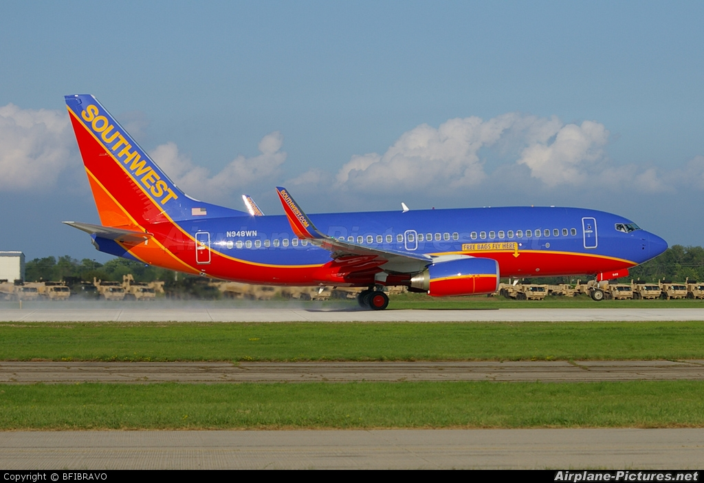 Southwest Airlines N948WN aircraft at Oshkosh - Wittman Regional