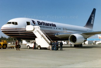 G-BKPW - Britannia Airways Boeing 767-200