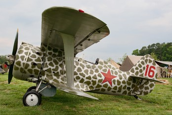 N153RP - Private Polikarpov I-153 Chaika