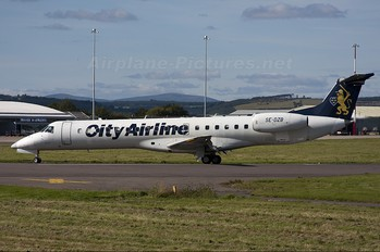 SE-DZB - City Airline Embraer ERJ-145