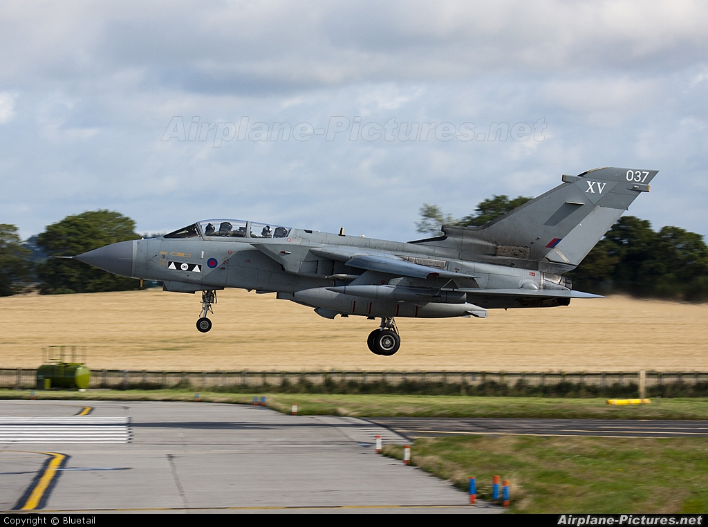 Royal Air Force ZA544 aircraft at Lossiemouth