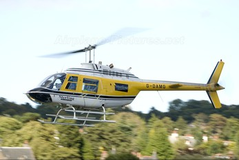 G-OAMG - Sterling Helicopters Bell 206B Jetranger III