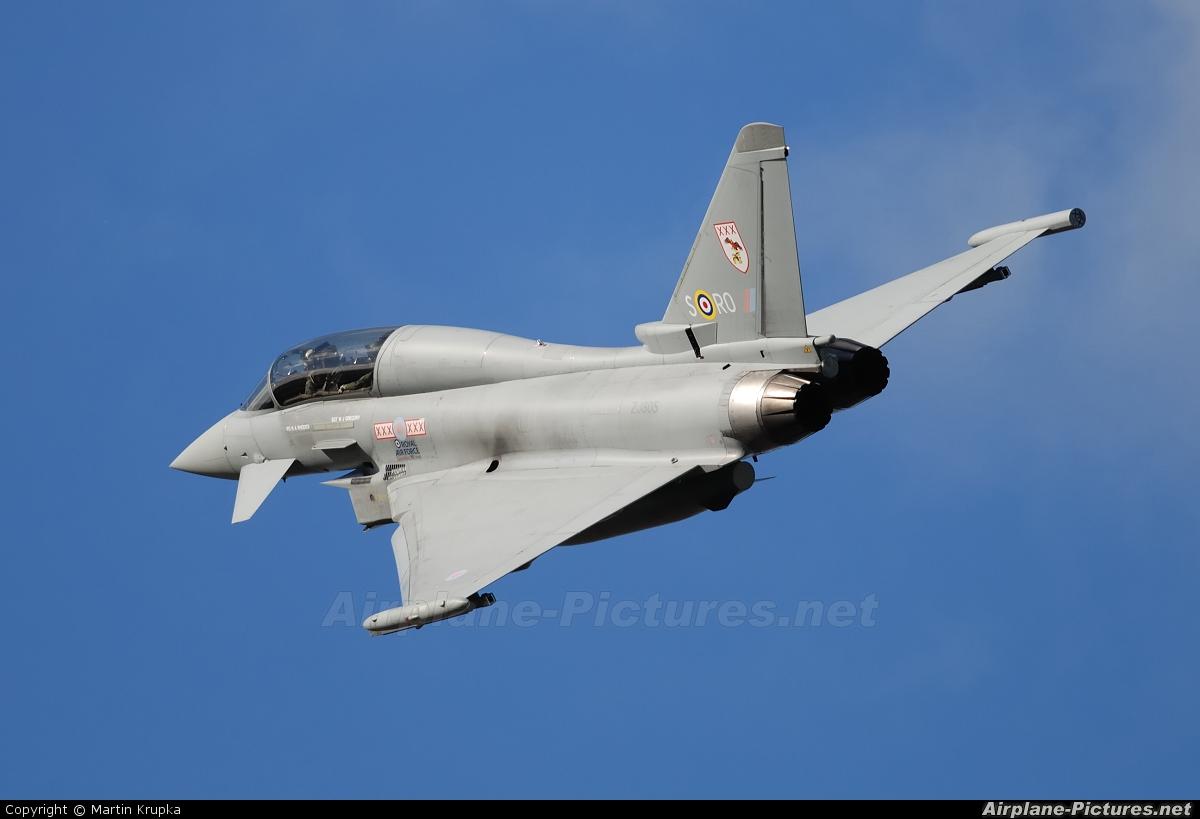 Royal Air Force ZJ805 aircraft at Leuchars