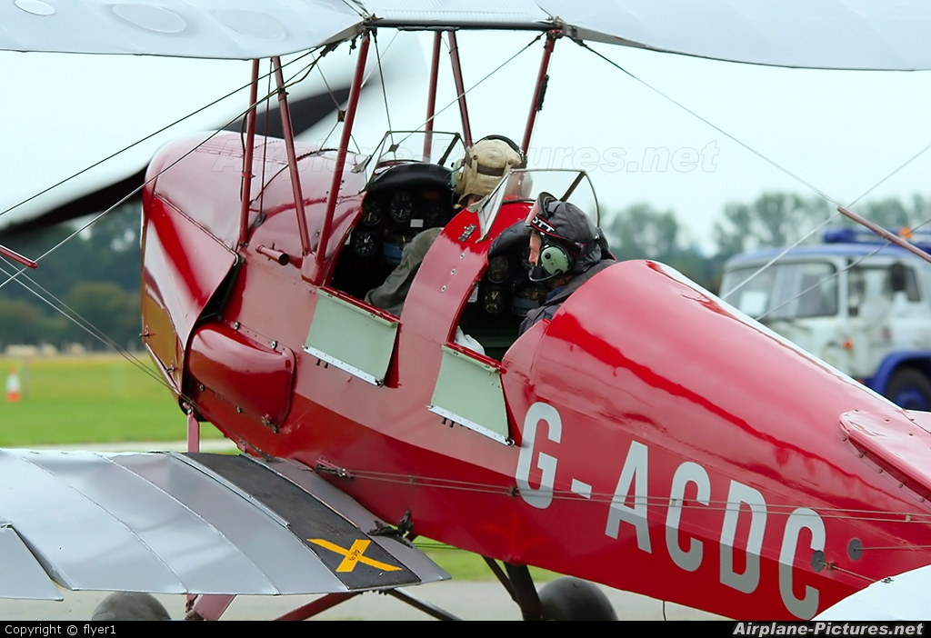 The Tiger Club G-ACDC aircraft at Lashenden / Headcorn