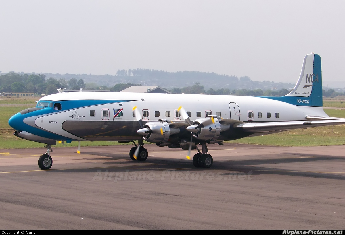 Namibia Commercial Aviation V5 NCG Aircraft At Brazzaville