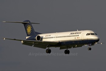 9A-BTE - SunAdria Fokker 100