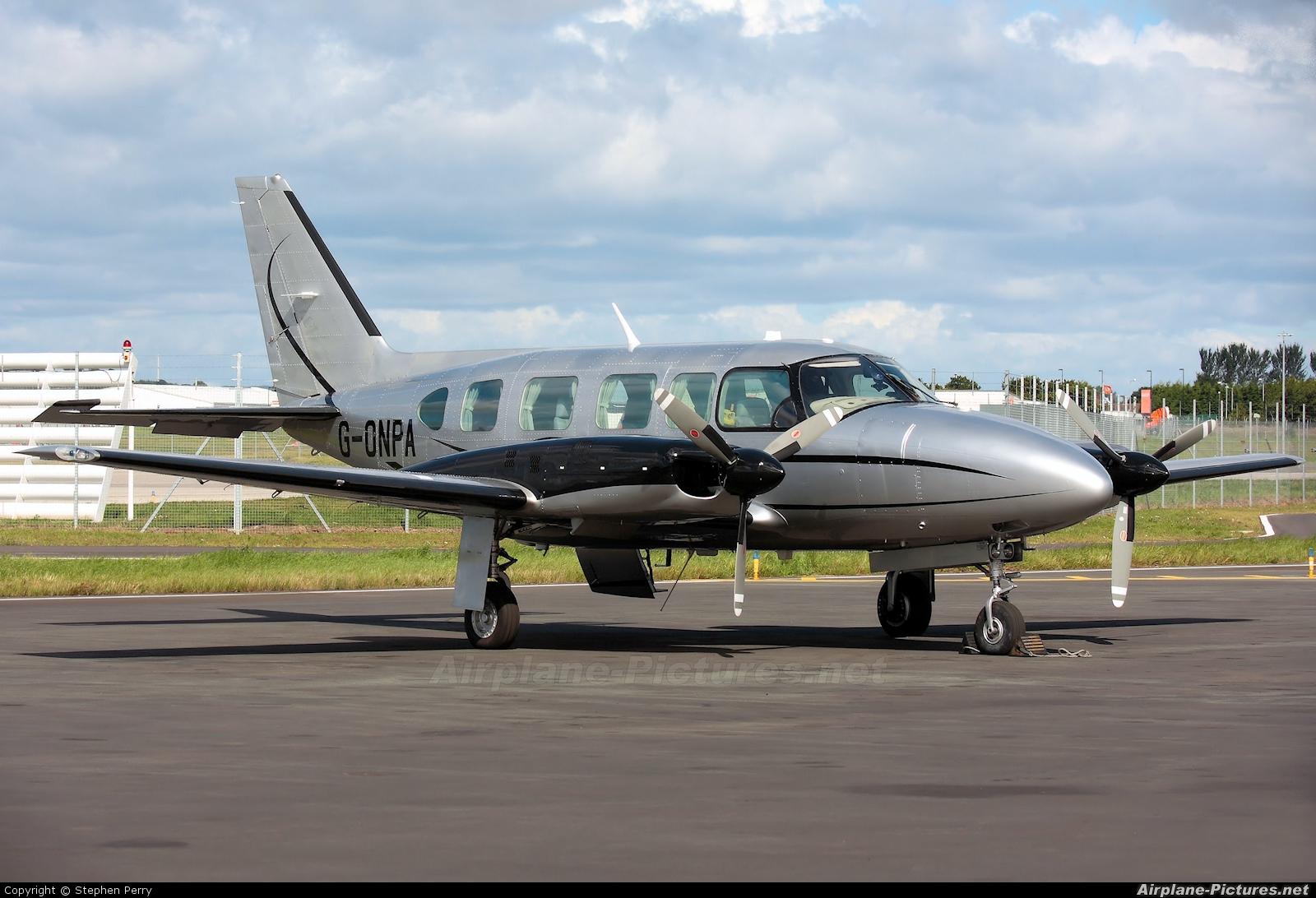 Synergy Aircraft Leasing G-ONPA aircraft at Edinburgh