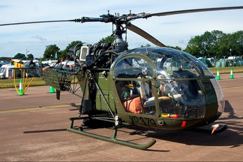 XR379 - UK - Army Historic Flight Sud Aviation SA-313 / 318 Alouette II (all models)