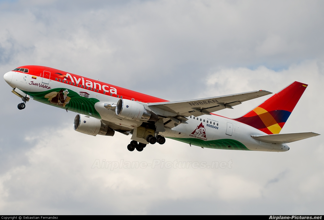 Avianca N988AN aircraft at Barcelona - El Prat
