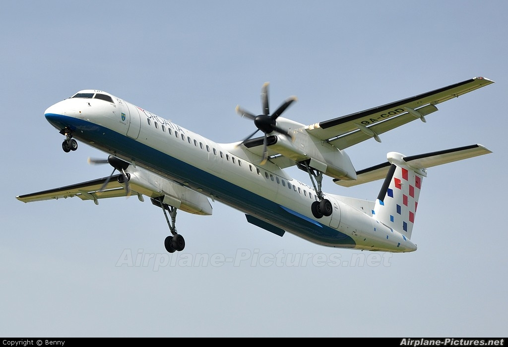 Croatia Airlines 9A-CQD aircraft at Zurich