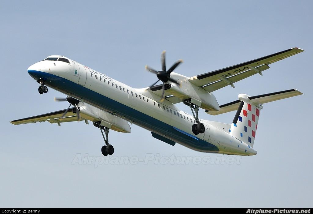 Croatia Airlines 9A-CQD aircraft at Zurich