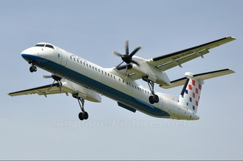 9A-CQD - Croatia Airlines de Havilland Canada DHC-8-400Q Dash 8