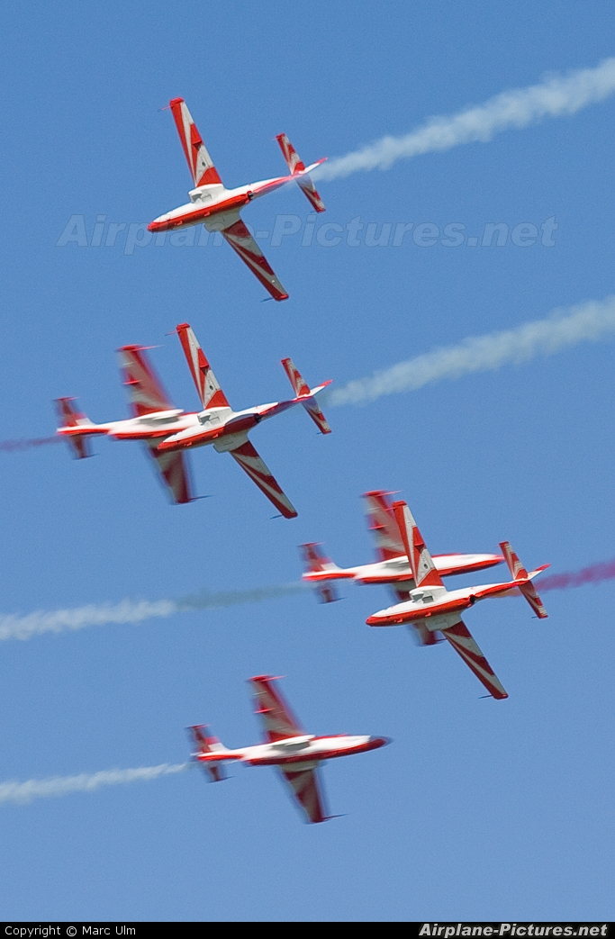 Poland - Air Force: White & Red Iskras 2007 aircraft at Rivolto
