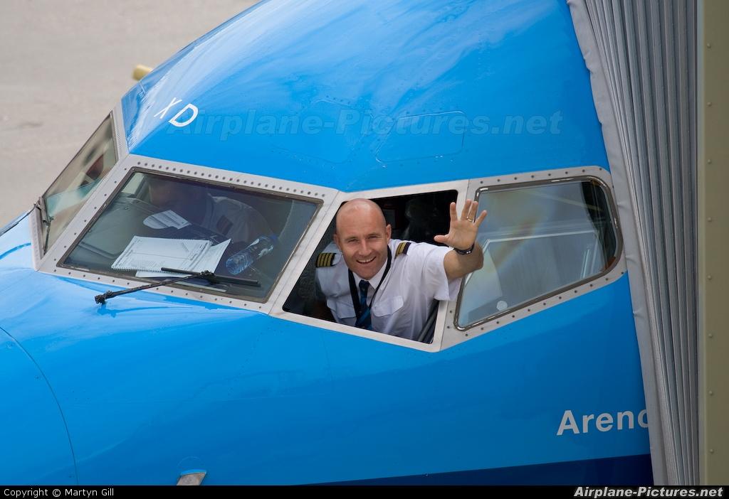 KLM PH-BXD aircraft at Amsterdam - Schiphol