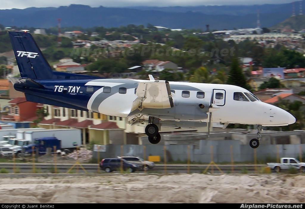 TAG - Transportes Aereos Guatemaltecos TG-TAY aircraft at Tegucigalpa - Toncontin