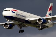 G-BNWY - British Airways Boeing 767-300 aircraft