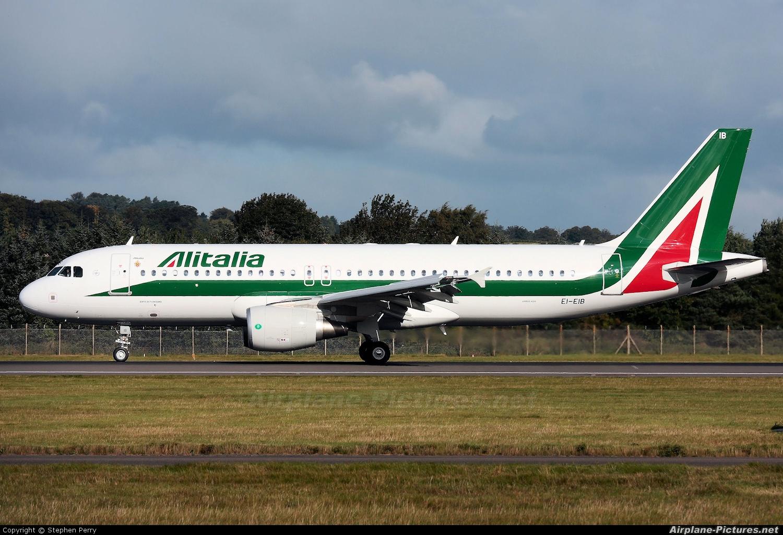 Jet Privato Alitalia : Ei eib alitalia airbus a at edinburgh photo id