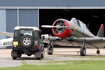 G-BGHU - Private North American Harvard/Texan (AT-6, 16, SNJ series)