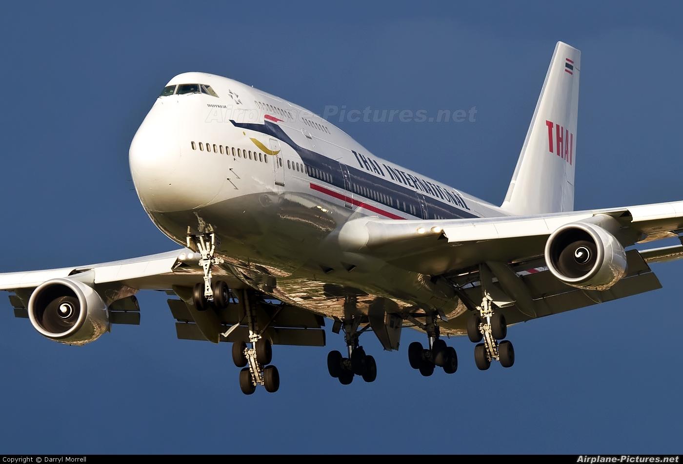 Thai Airways HS-TGP aircraft at London - Heathrow