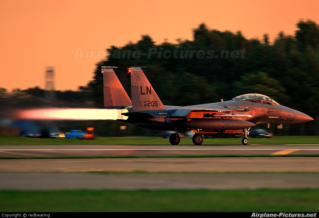 USA - Air Force 96-0205 aircraft at Lakenheath