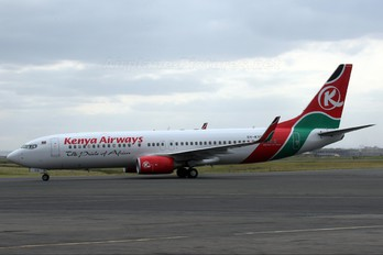 5Y-KYD - Kenya Airways Boeing 737-800