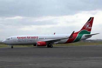 5Y-KYD - Kenya Airways Boeing 737-800