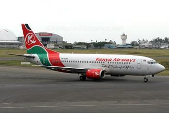5Y-KQB - Kenya Airways Boeing 737-300