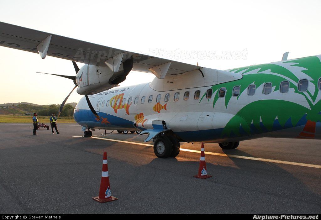 Bangkok Airways HS-PGM aircraft at Trat