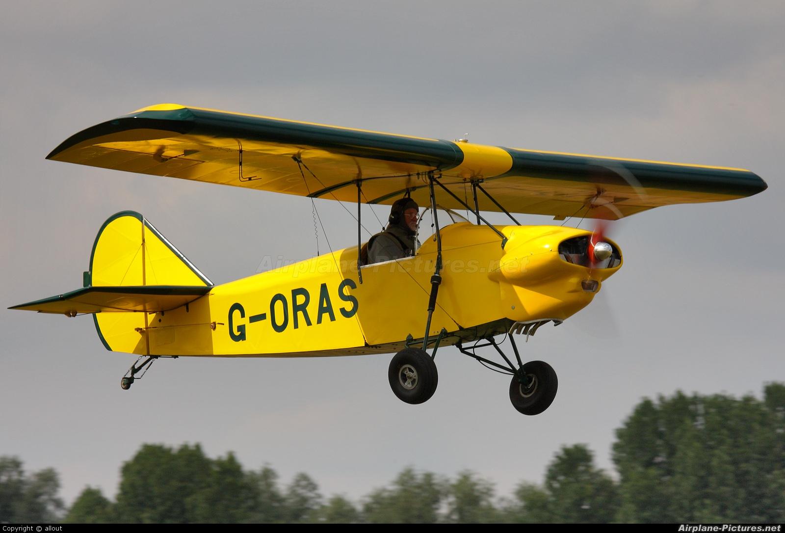 Private G-ORAS aircraft at Breighton