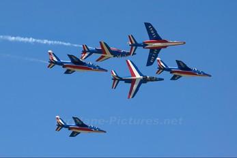 """E134 - France - Air Force """"Patrouille de France"""" Dassault - Dornier Alpha Jet E"""