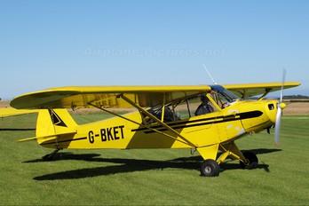 G-BKET - Private Piper PA-18 Super Cub