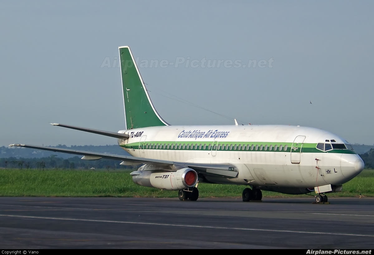 Central Afrique Air Express TL-ADR aircraft at Undisclosed location