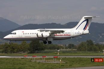 ZA-MEV - Albanian Airlines British Aerospace BAe 146-300/Avro RJ100