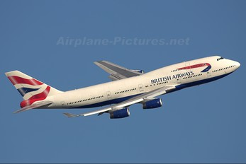 G-BNLL - British Airways Boeing 747-400