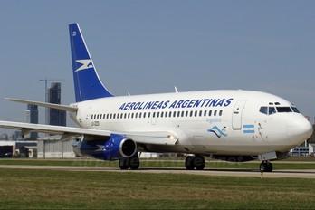 LV-ZZD - Aerolineas Argentinas Boeing 737-200