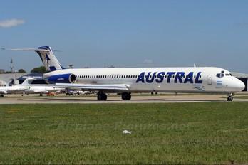 LV-BOA - Austral Lineas Aereas McDonnell Douglas MD-88