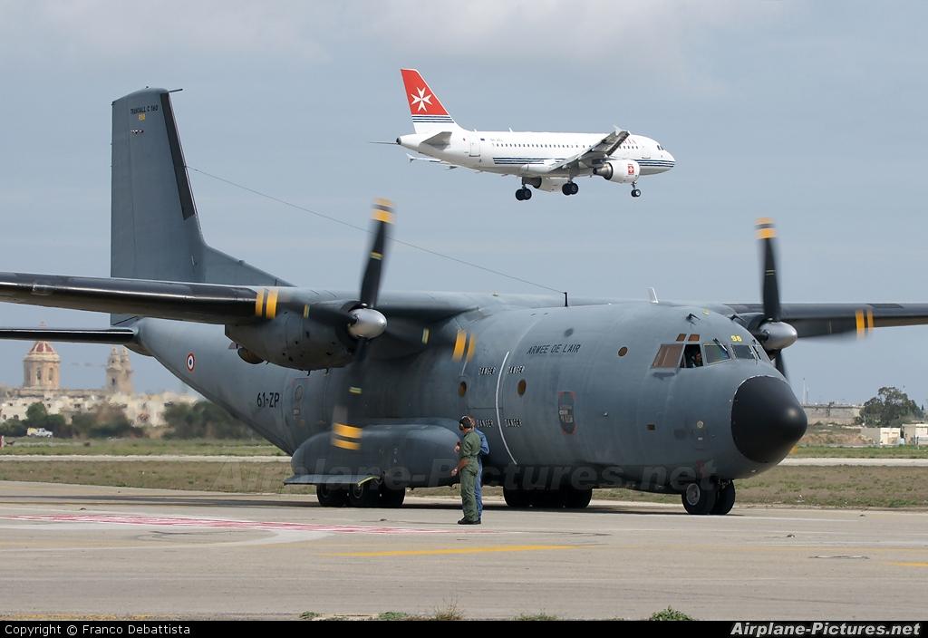 France - Air Force R98 aircraft at Malta Int