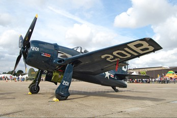 G-RUMM - The Fighter Collection Grumman F8F Bearcat