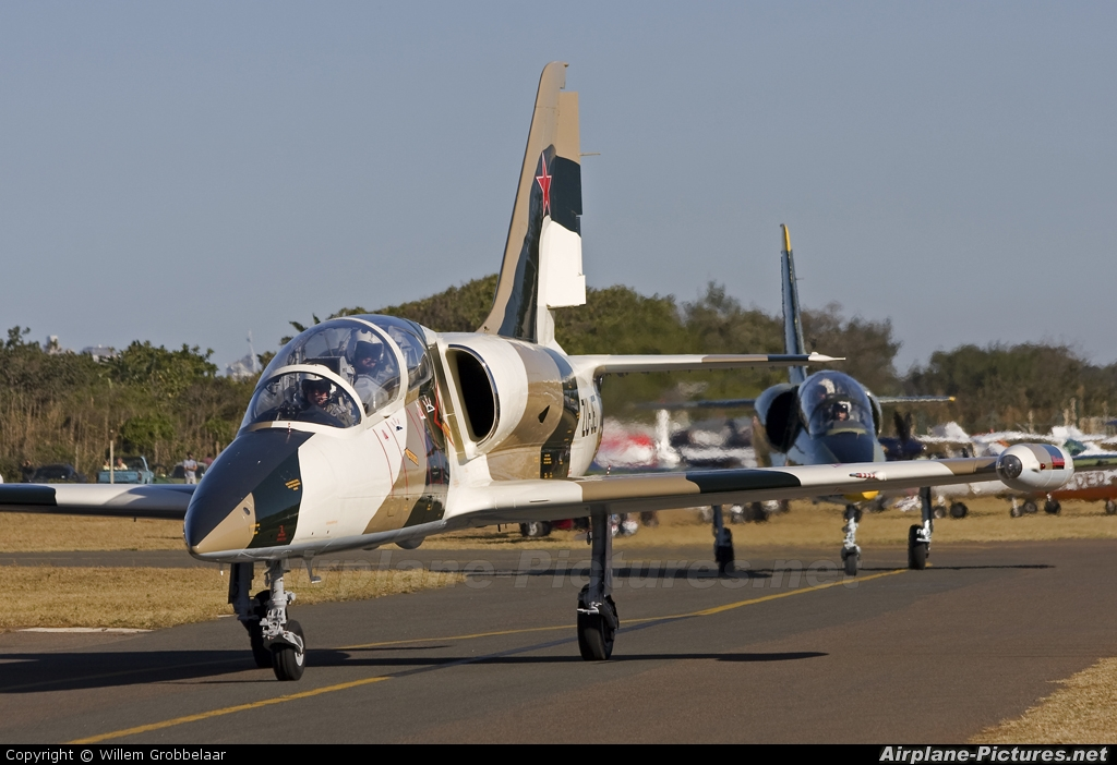 Private ZU-JET aircraft at Durban - Virginia