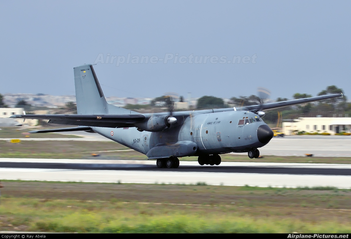France - Air Force R206 aircraft at Malta Intl