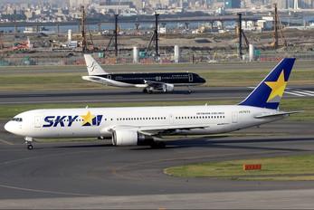 JA767A - Skymark Airlines Boeing 767-300ER