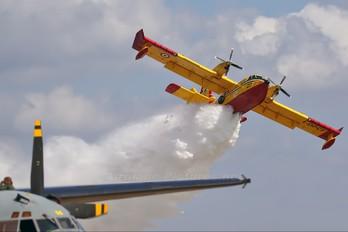 I-DPCF - Italy - Protezione civile Canadair CL-415 (all marks)