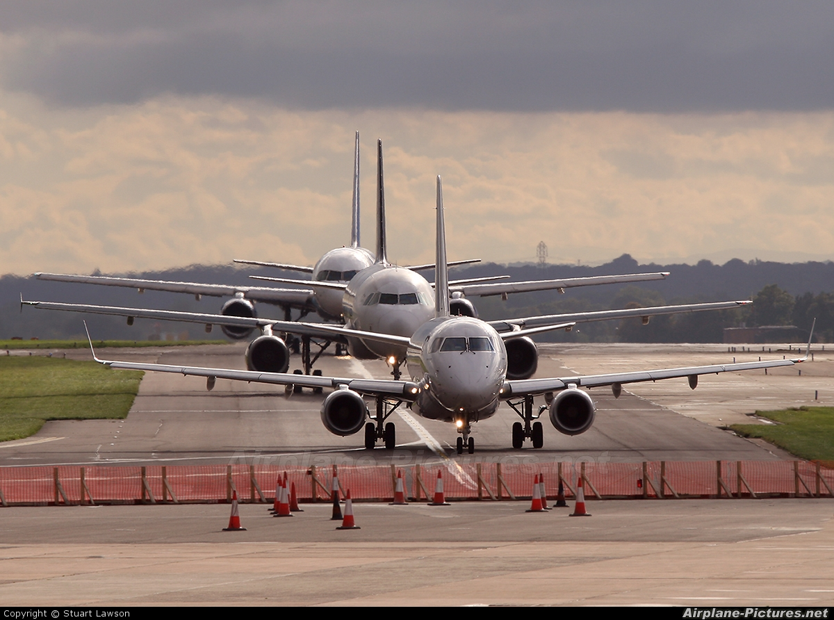 Air France - Regional F-HBXF aircraft at Manchester