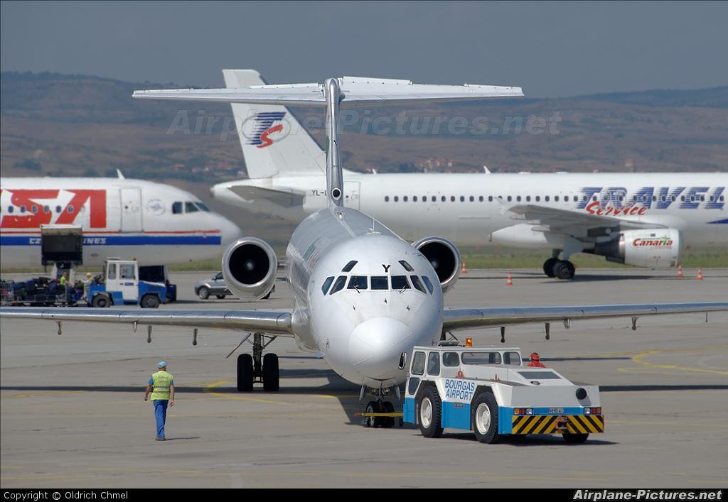 Bulgarian Air Charter LZ-LDY aircraft at Burgas