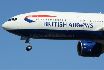 G-VIIX - British Airways Boeing 777-200