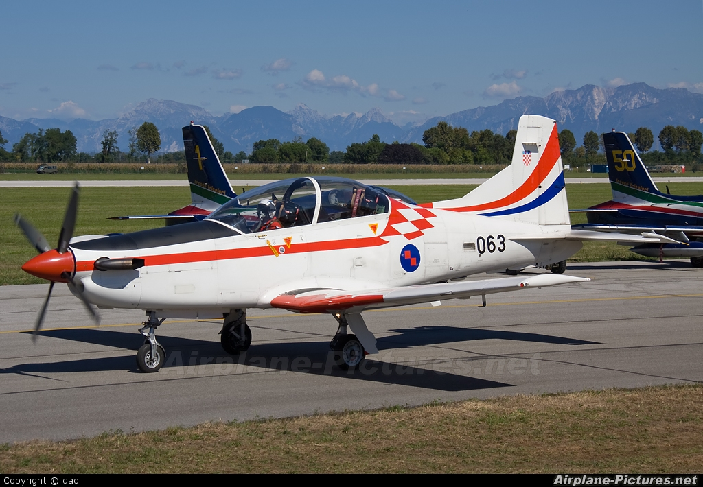 Croatia - Air Force 063 aircraft at Rivolto